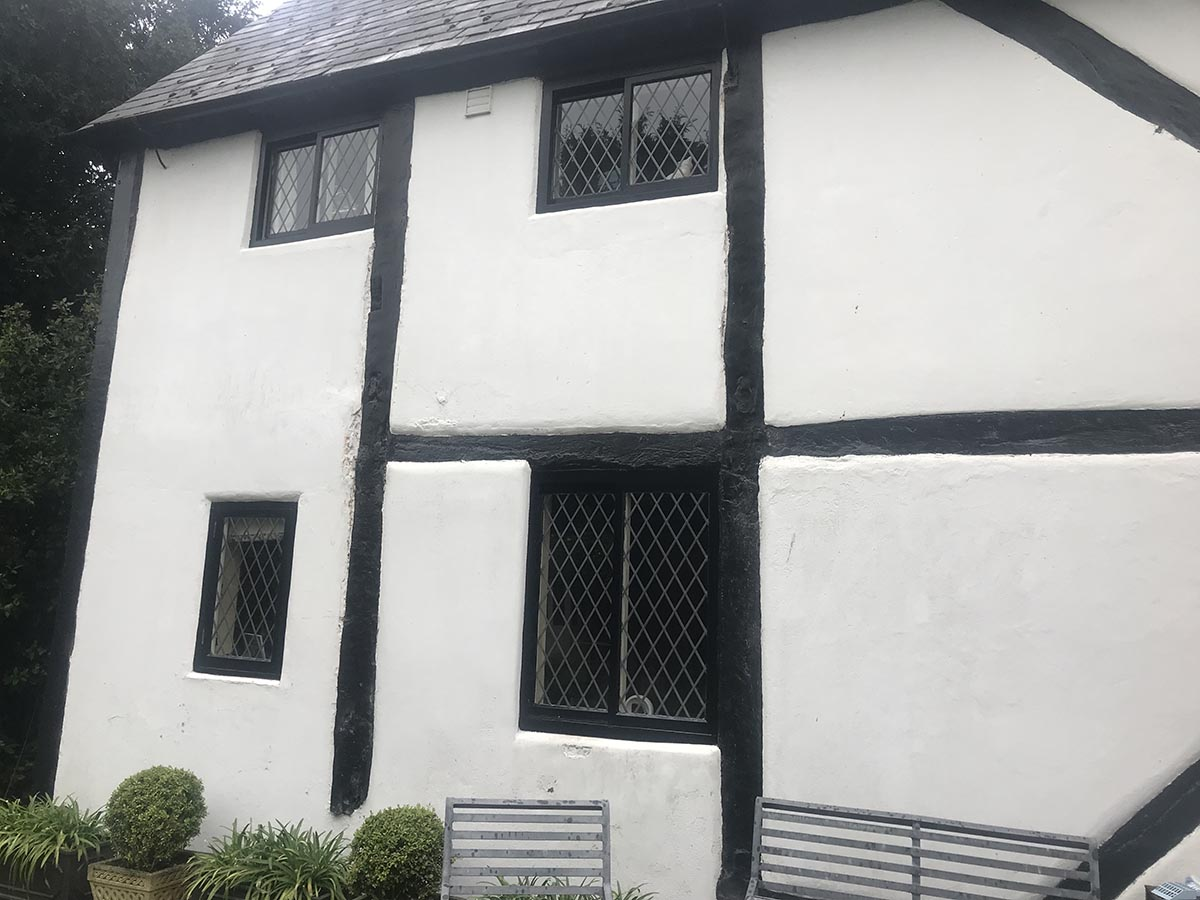 Keepers Lodge Long Whatton Grade 2 listed restoration